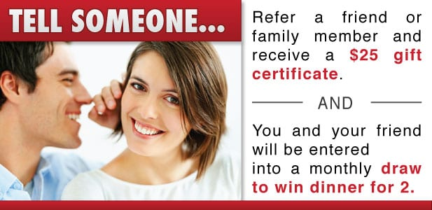 referral rewards $25 gift card